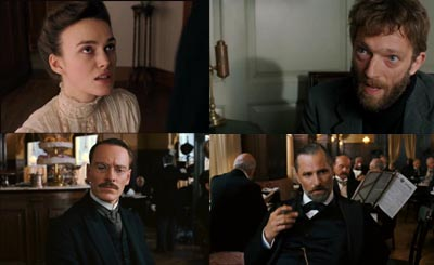 Keira Knightley, Vincent Cassel, Viggo Mortensen, Michael Fassbender - THE DANGEROUS METHOD, il trailer