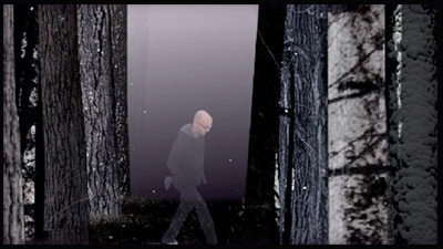 Moby in IN THE WOODS Experience di Jennifer Elster