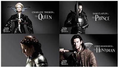 Snow White and The Huntsman di Rupert Sanders - cast