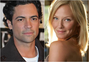Danny Pino e Kelly Giddish