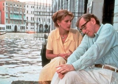 Julia Roberts e Woody Allen in Tutti dicono i love you