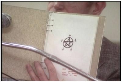 Un disegnino di Echols (le prove del super-esperto di occultismo)