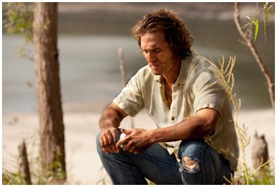 Matthew McConaughey in MUD di Jeff Nichols, la prima foto