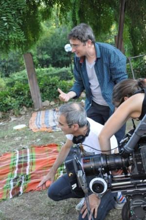 Olivier Assayas sul set toscano di Après Mai