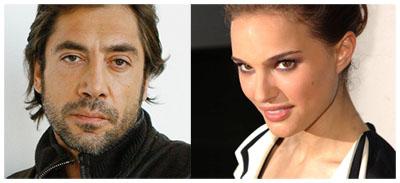 Javier Bardem e Natalie Portman in The Counselor?