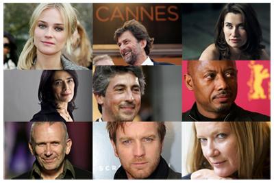 La giuria di Cannes 65