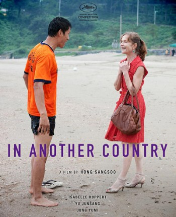 IN ANOTHER COUNTRY - Hong Sang-Soo - in concorso a Cannes 65 - poster