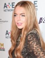 Lindsay Lohan AE Upfronts