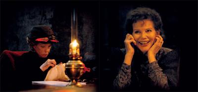 Jeanne Moreau e Claudia Cardinale in GEBO ET L'OMBRE di Manoel de Oliveira