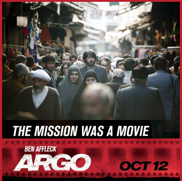 Ben Affleck, Argo: un thriller politico e una satira sul mondo di Hollywood