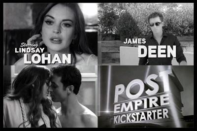Lindsey Lohan e James Deen - THE CANYONS - trailer anni 50
