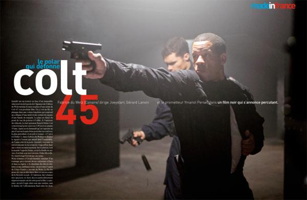 Joey Starr in COLT 45, nuovo Polar di Fabrice Du Welz
