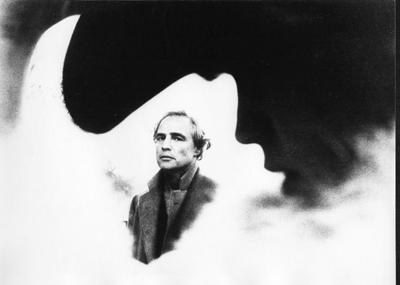 Marlon Brando e Maria Schneider - ULTIMO TANGO A PARIGI, foto ©Angelo Novi