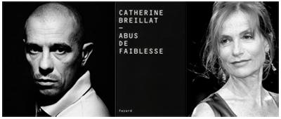 Kool Shen e Isabelle Huppert, ABUS DE FAIBLESSE di Catherine Breillat