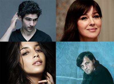 Tahar Rahim, Monica Bellucci e Leila Bekhti per Emir Kusturica