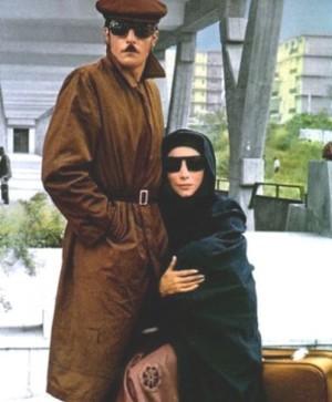 Mariangela Melato con Giancarlo Giannini in Mimì metallurgico