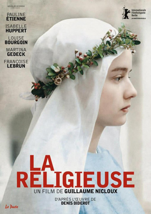 Pauline Étienne in La religieuse di Guillaume Nicloux - il poster