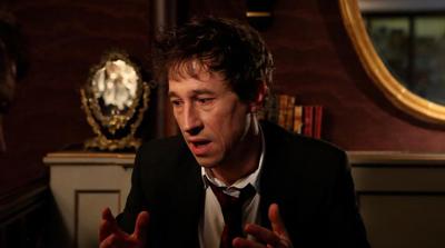 Il regista Bertrand Bonello è il protagonista di LE DOS ROUGE
