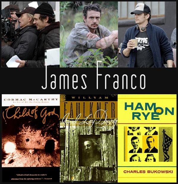 James Franco regista: McCarthy, Faulkner e Bukowski