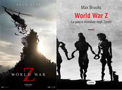 World War Z, dal libro di Max Brooks al film di Marc Forster