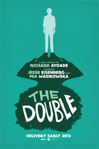 THE DOUBLE di Richard Ayoade, poster