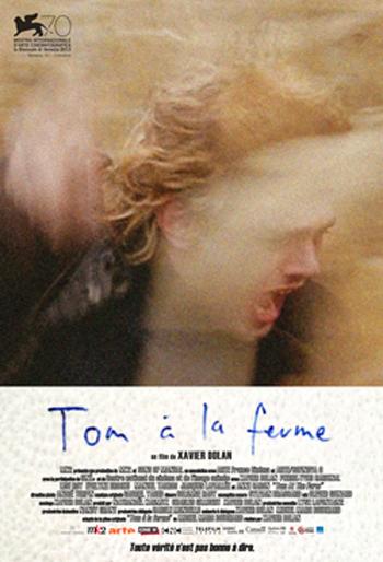 VENEZIA 70, TORONTO 38 - Poster di Tom à la ferme di Xavier Dolan