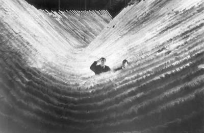 Fellini sul set Fellini-Satyricon