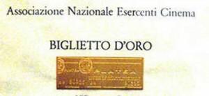Biglietto d'oro del cinema italiano