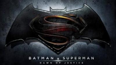 Logo ufficiale di Batman V Superman