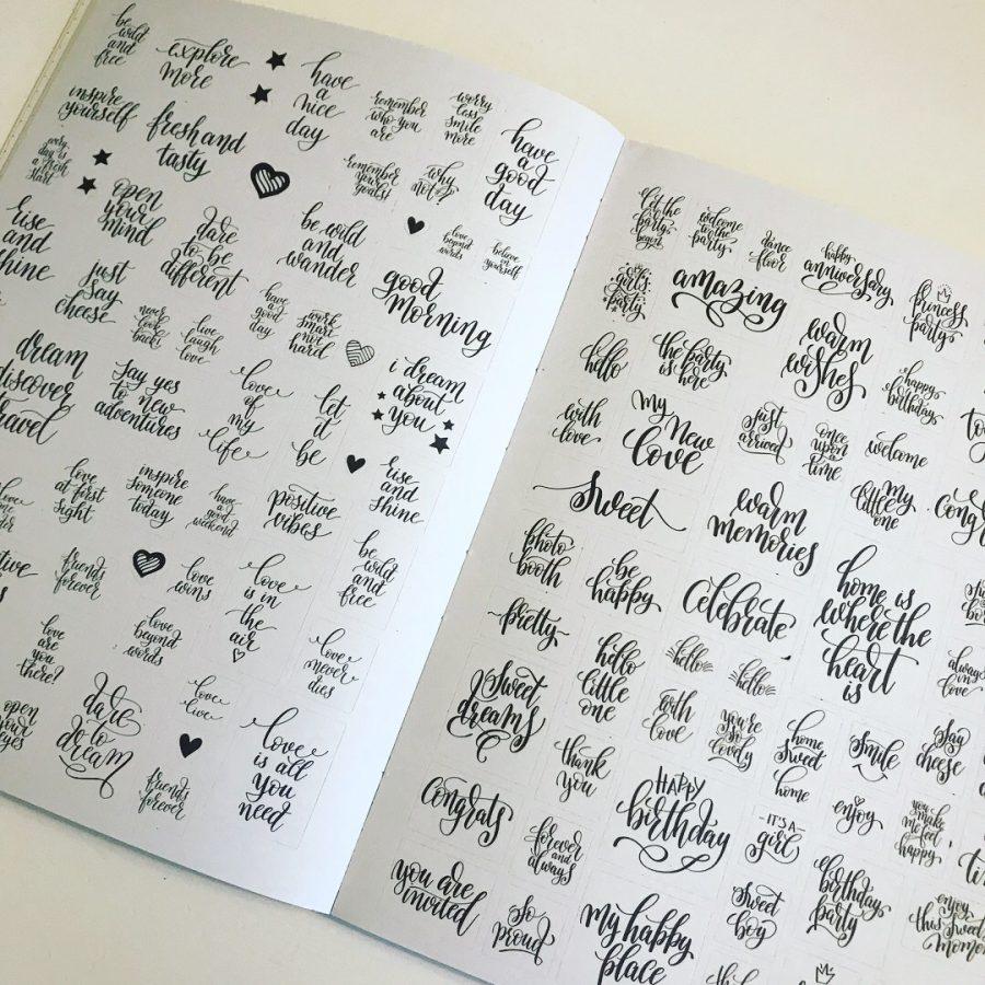 Mijn leven in foto's #87 - Mijn Bullet Journal Stickers van Mus