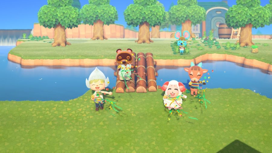 Animal Crossing - New Horizons - ceremonie