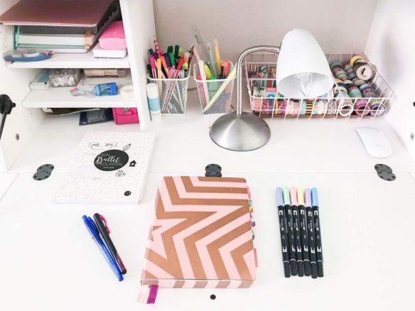 Mijn leven in foto's #88 - Mijn Bullet Journal Augustus Setup