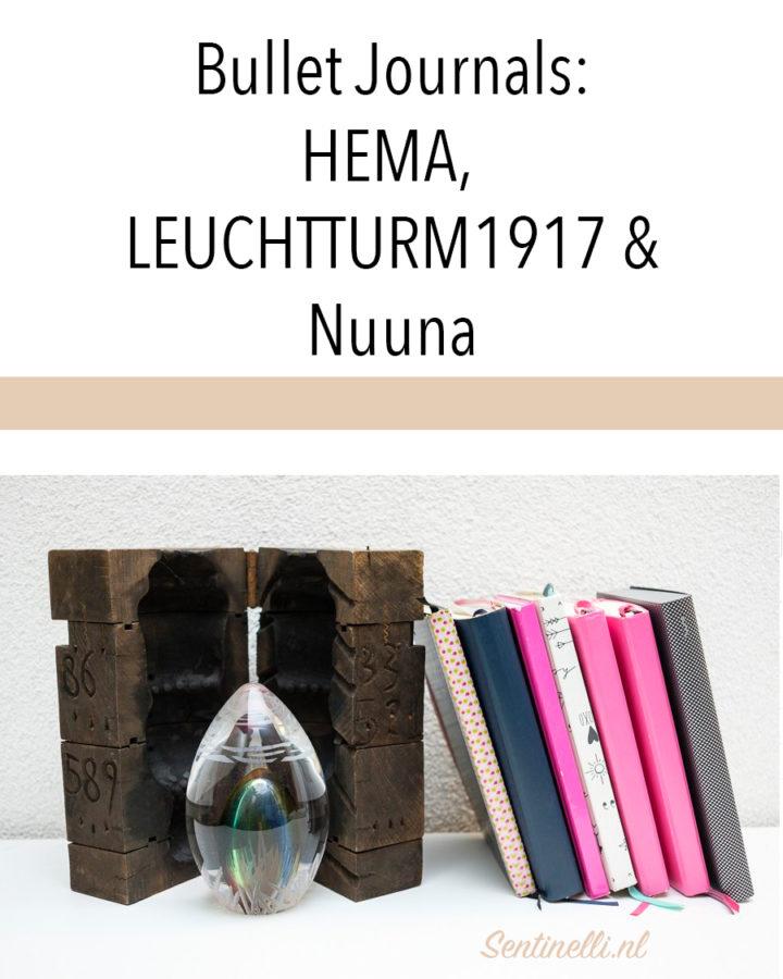 Bullet Journals- HEMA, LEUCHTTURM1917 & Nuuna