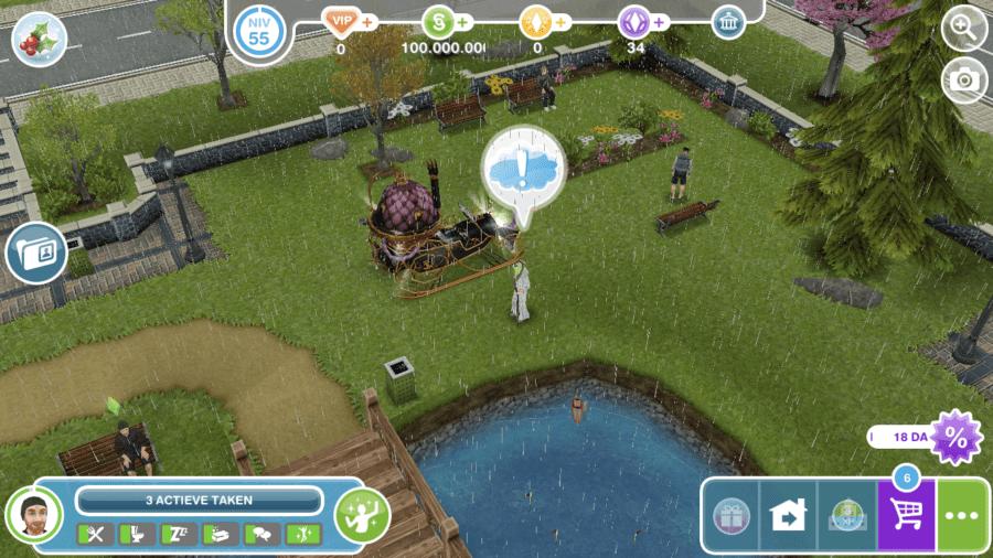 De Sims Freeplay Walkthrough - Sneeuwprobleem