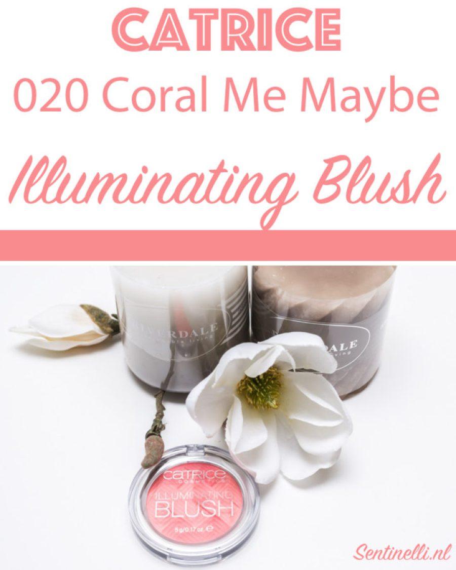 Catrice 020 Coral Me Maybe Illuminating Blush