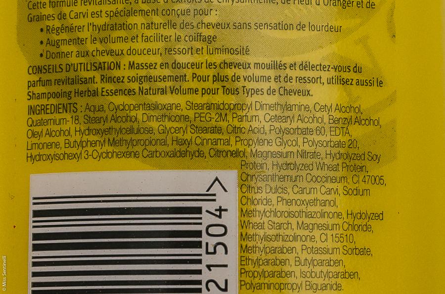 Herbal Essences Natural Volume oranjebloesem conditioner