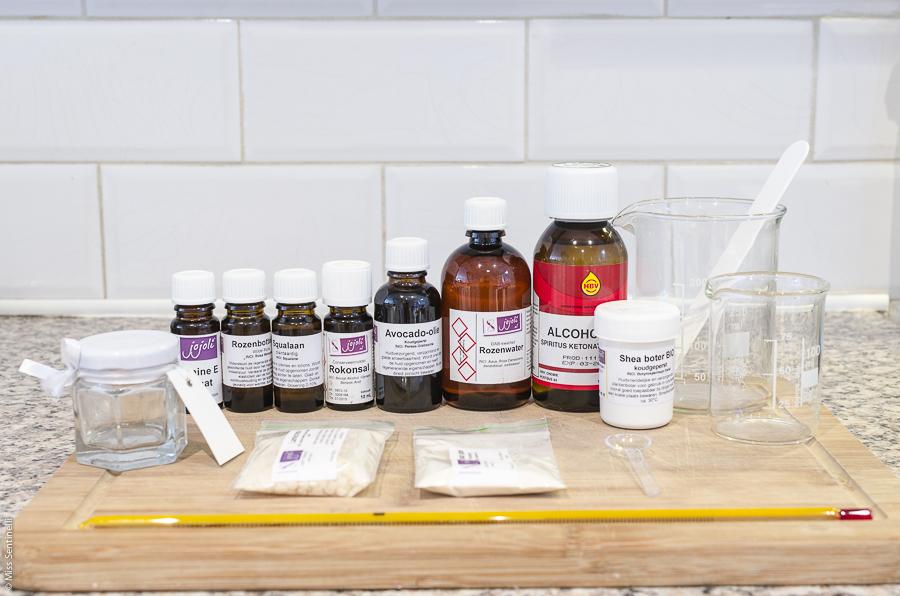 Startpakket Dag- en nachtcrème maken van Jojoli.nl