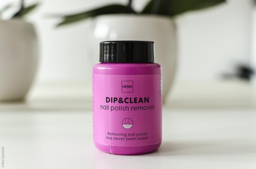 Hema Dip & Clean Nail polish remover