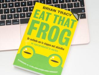 Eat that Frog – De methode om te stoppen met uitstellen en superproductief te worden – 17,50 Euro