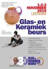 Glas- en keramiek beurs Leerdam 1 tot en met 3 november
