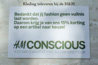 Kleding inleveren bij de H&M en 15% korting krijgen!