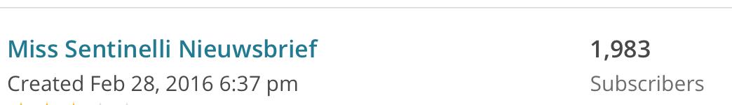 Hoe ik in juli 601,12 Euro verdiende (+ 139 Euro aan barterdeals) met bloggen en werk als Virtual Assistant - Mailchimp