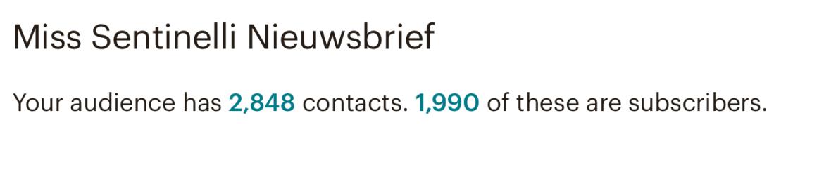 Hoe ik in mei 1.218,20 Euro (+ 112 Euro aan barterdeals) verdiende met bloggen en werk als Virtual Assistant - MailChimp