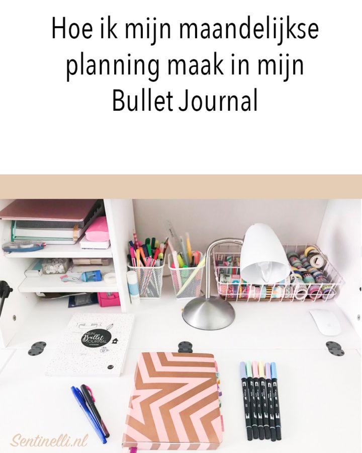 Hoe ik mijn maandelijkse planning maak in mijn Bullet Journal