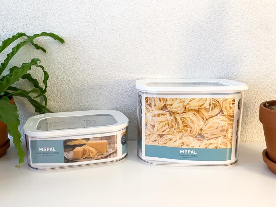 Hoe je eten in jouw keukenkastjes kunt organiseren - Mepal Bewaardoos