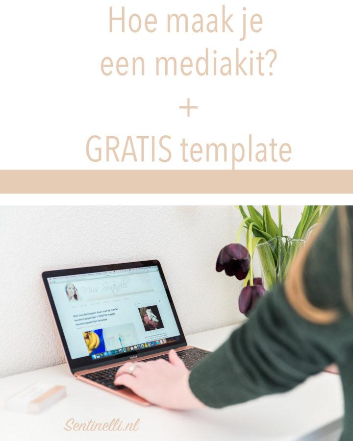 Hoe maak je een mediakit GRATIS template