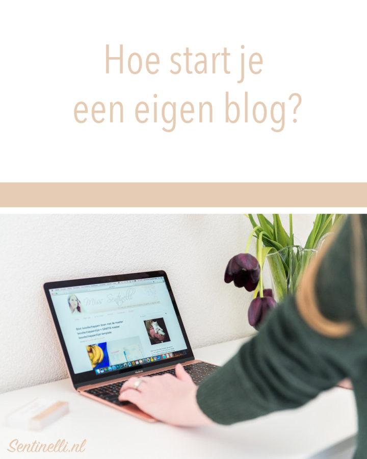 Hoe start je een eigen Blog
