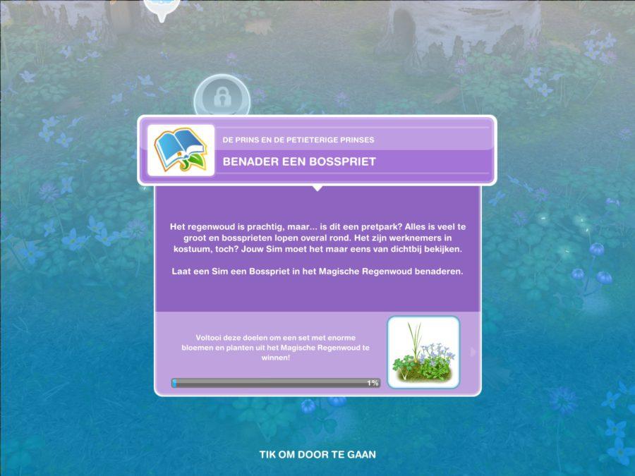 Walkthrough - Community-Evenement (De prins en de petieterige prinses)
