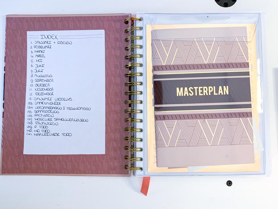 Josh V Mascha Planner als Bullet Journal en Planner