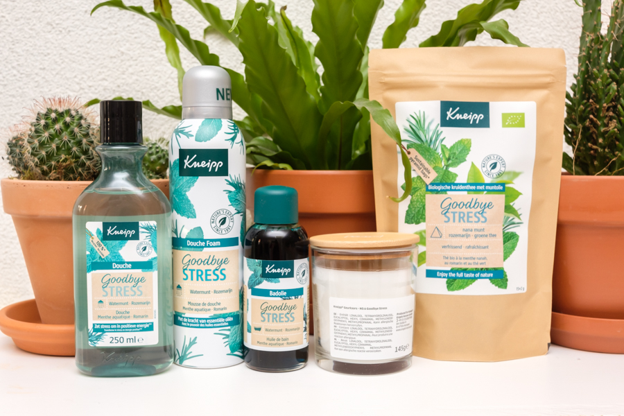 Kneipp Goodbye Stress producten